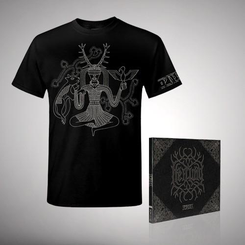 Heilung - Futha bundle 1 - CD DIGIPAK + T Shirt bundle (Men)