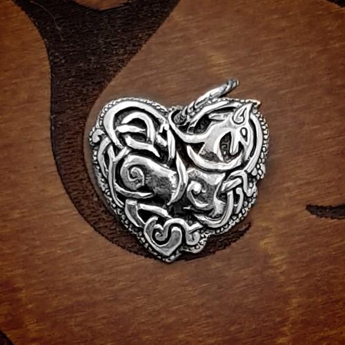 Knotwork Heart - Pendant