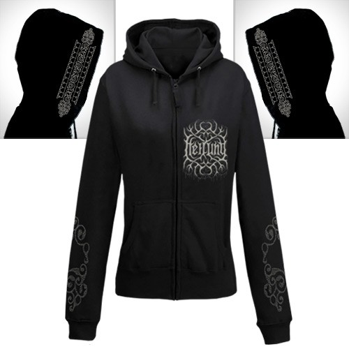 Heilung - La Tene - Hooded Sweat Shirt Zip (Women)