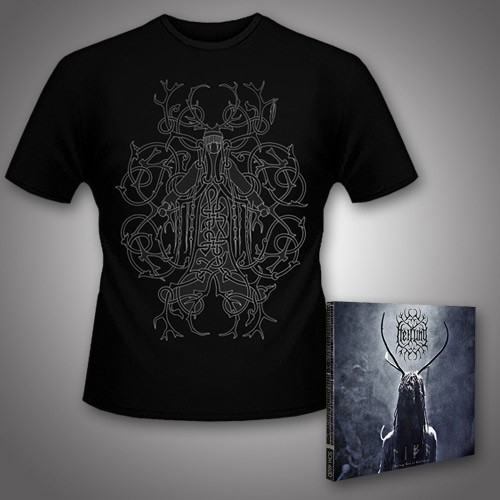 Heilung - Lifa - Heilung Live at Castlefest + Audugan - CD DIGIPAK + T Shirt bundle (Men)