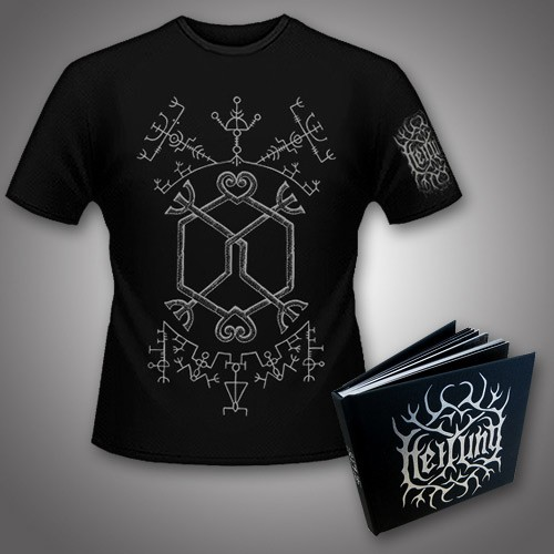 Heilung - Ofnir Deluxe Edition + Galdr - CD DIGIBOOK + T Shirt Bundle (Men)