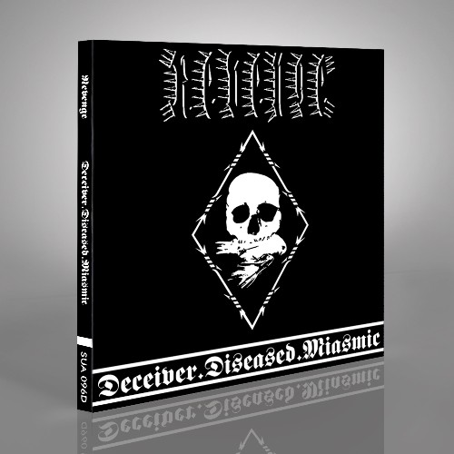 Deceiver.Diseased.Miasmic - CD DIGIPAK + Digital