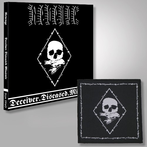 Deceiver.Diseased.Miasmic - CD DIGIPAK + PATCH