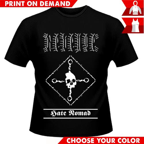 Revenge - Hate Nomad - Print on demand