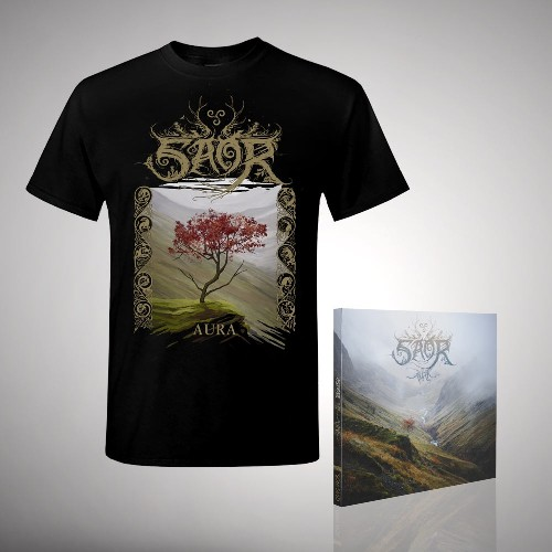 Aura - CD DIGIPAK + T Shirt bundle (Men)