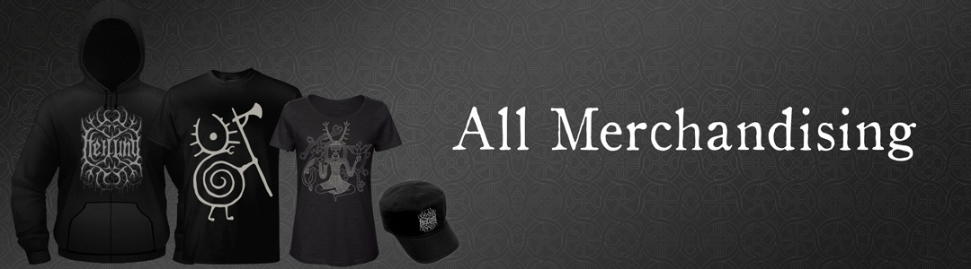 All merchandising items: T-shirts, sweaters, patches, mugs, jewels, and more !